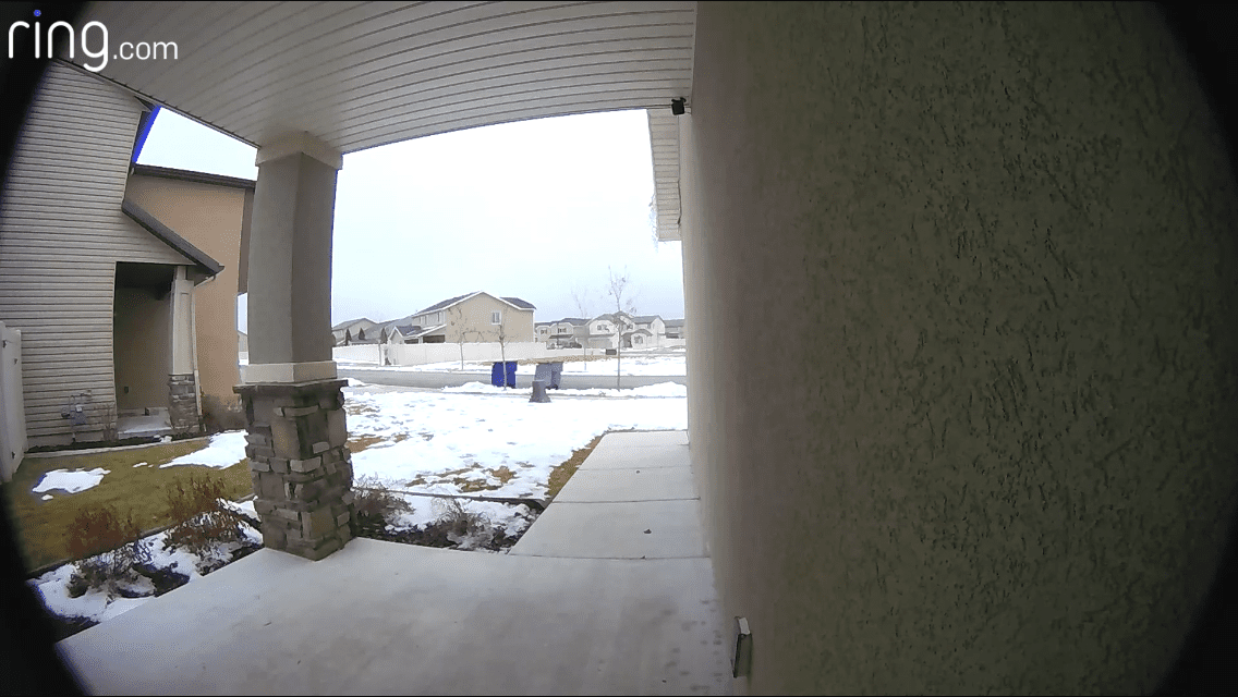 View from Ring Doorbell Video Doorbell