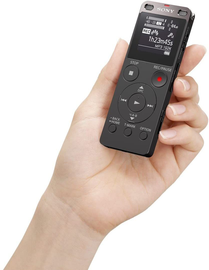 Sony ICDUX560BLK Digital Voice Recorder