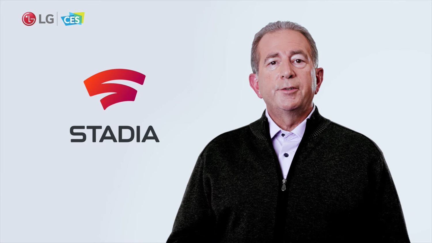 LG announcing Google Stadia's coming to LG TVs