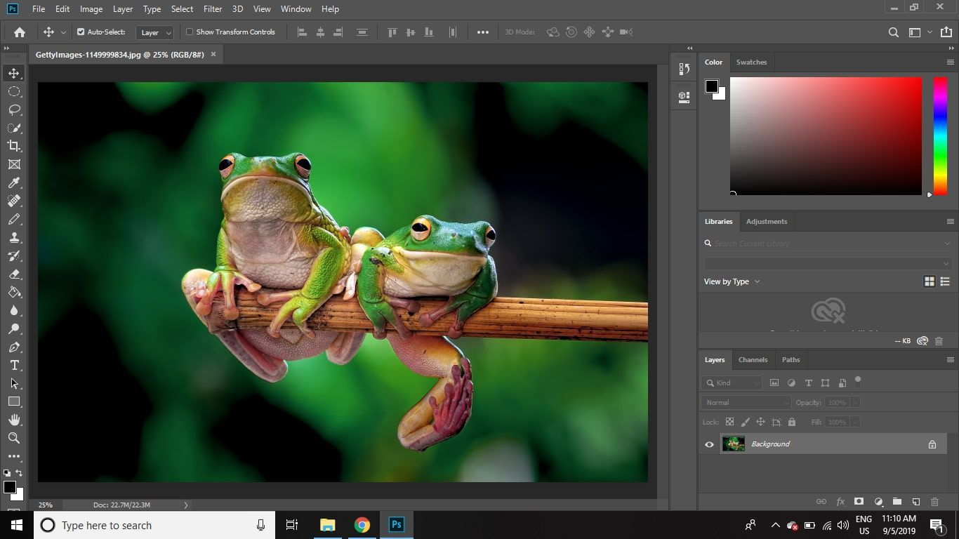 The Photoshop CS2 Workspace