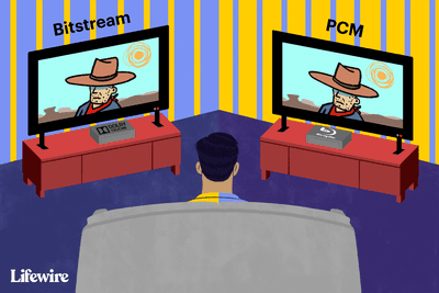 Blu-ray showing Bitstream vs. PCM