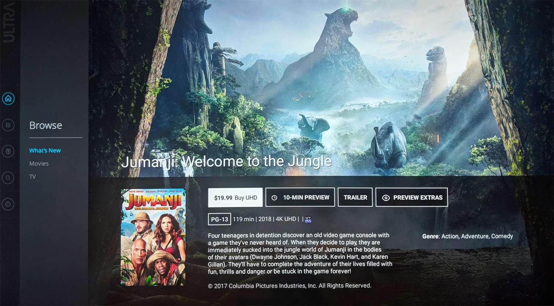 Sony Ultra — The 4K Streaming Service