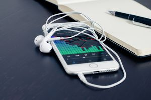 Music on mobile device