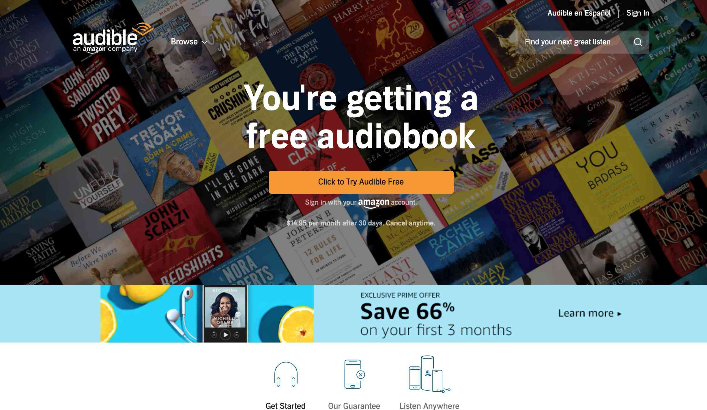 Top 10 Audiobook Download Sites for iPhone