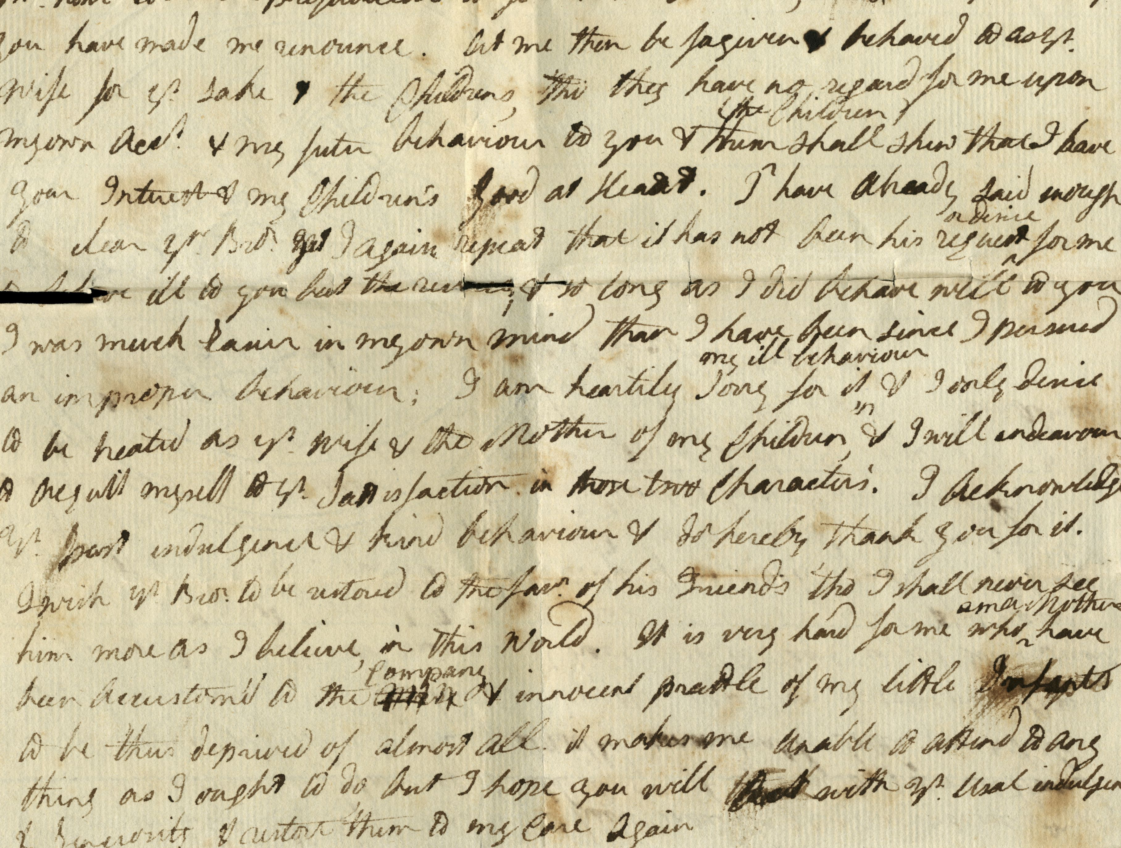 Learn how to approach the variety of interesting challenges that old documents and records can present, including tips for reading old handwriting such as that seen in this old handwritten letter.