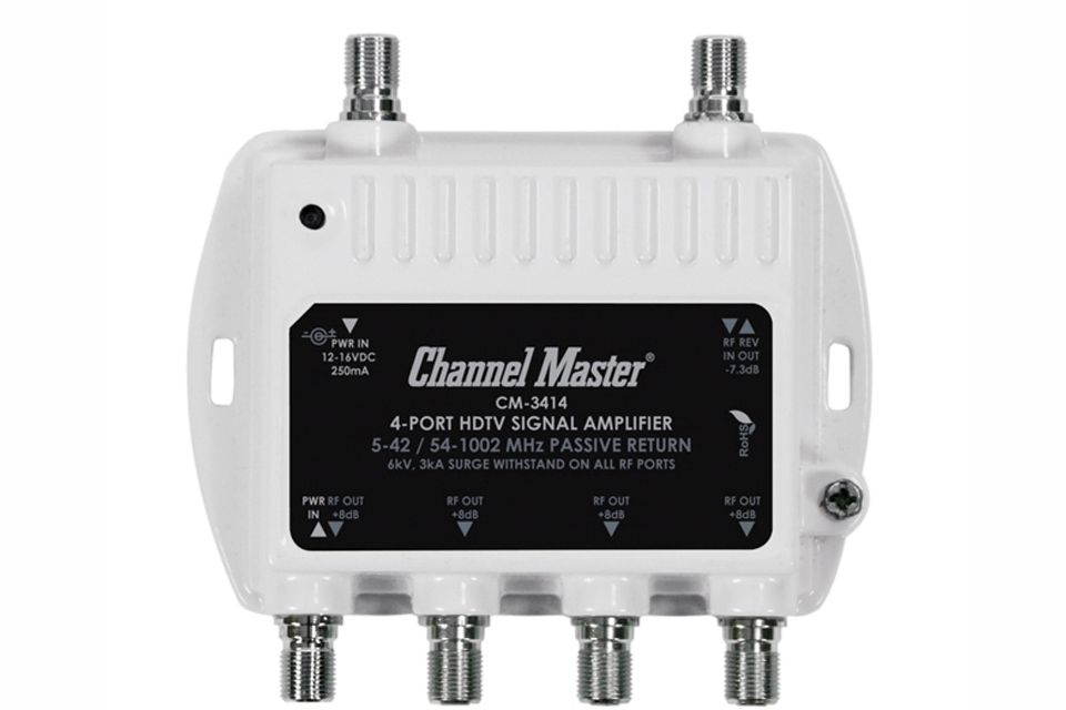 Channel Master RF Antenna Distribution Amplifier