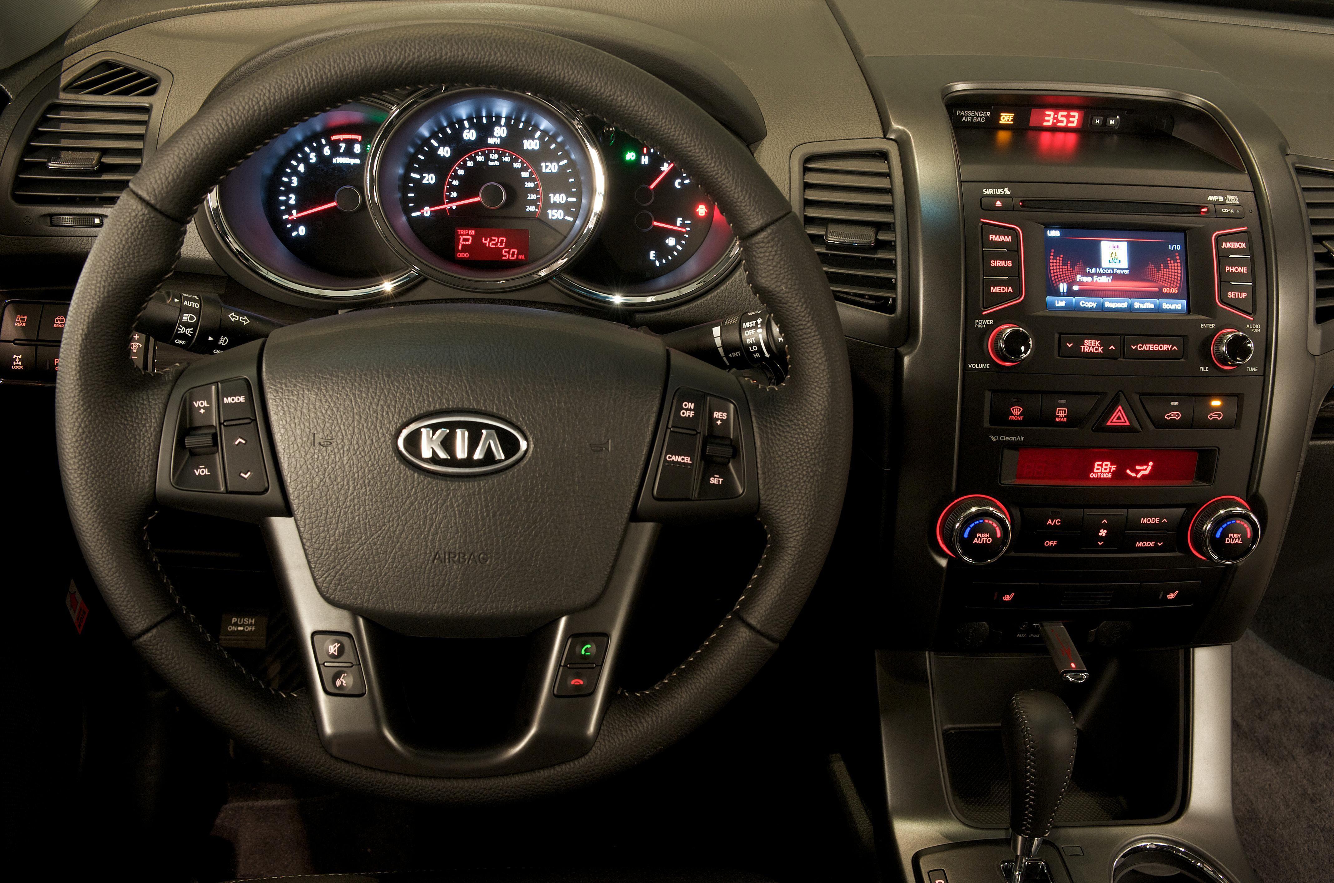 Kia Uvo Controls