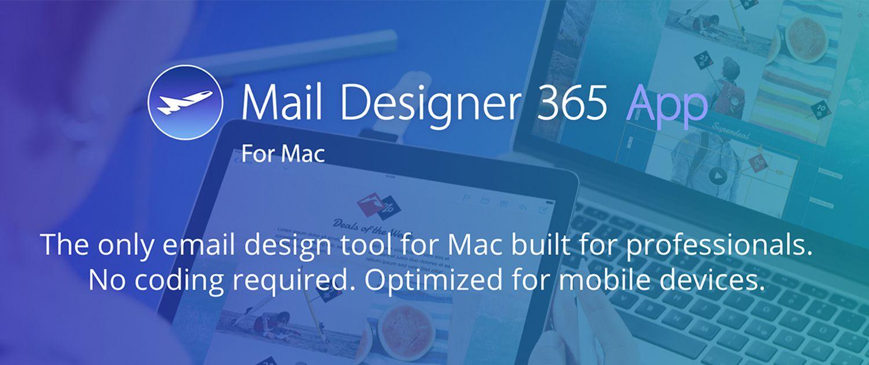 Mail Designer 365 for Mac