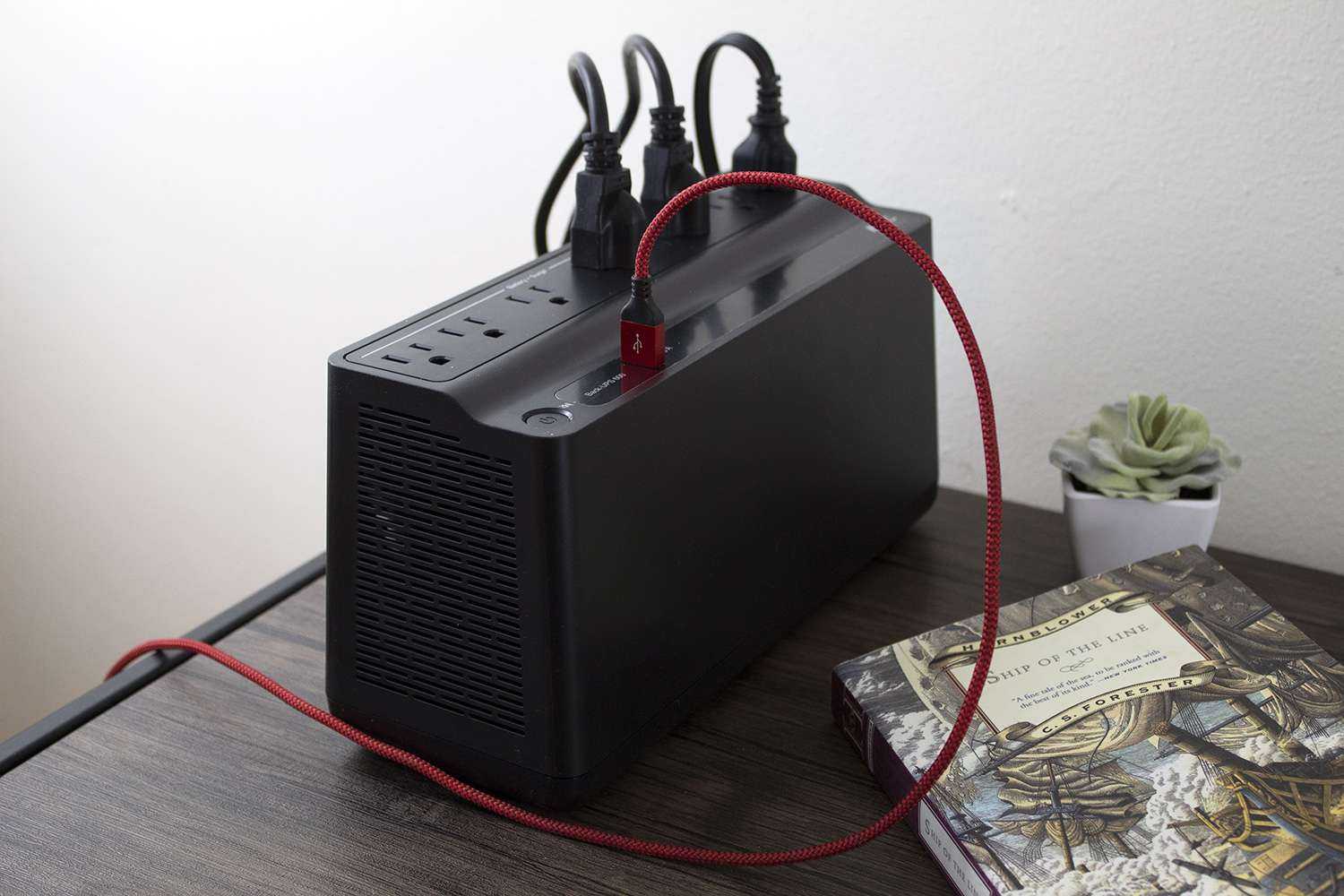 APC Back-UPS Battery Backup & Surge Protector with USB Charger