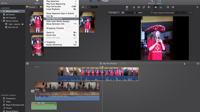 Imovie Audio Editing Tips