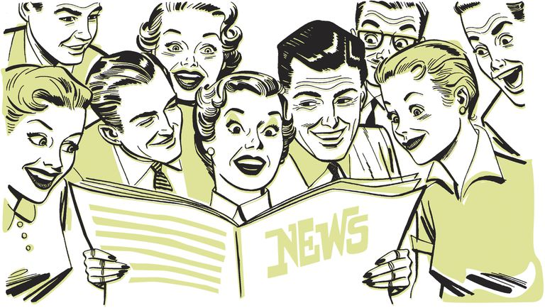 Newspaper illustration