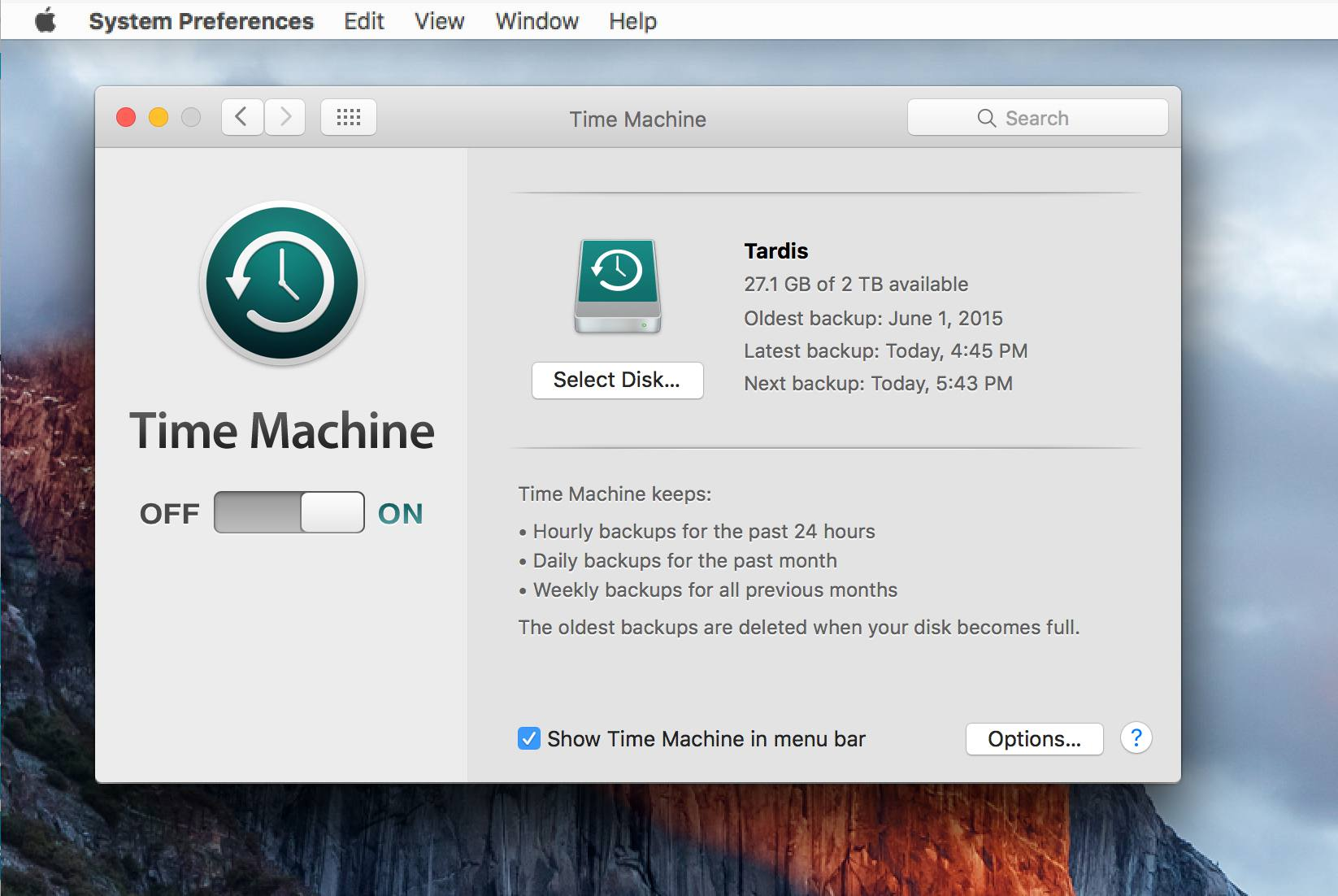 Time Machine Troubleshooting Tips