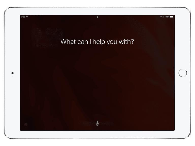 Siri lock screen