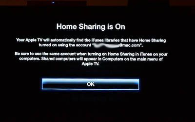 Set Up Home Sharing in iTunes for Streaming to Apple TV