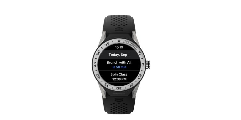 Wear OS by Google notifications panel