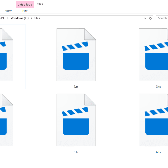 Opening, Editing, and Converting TS Files