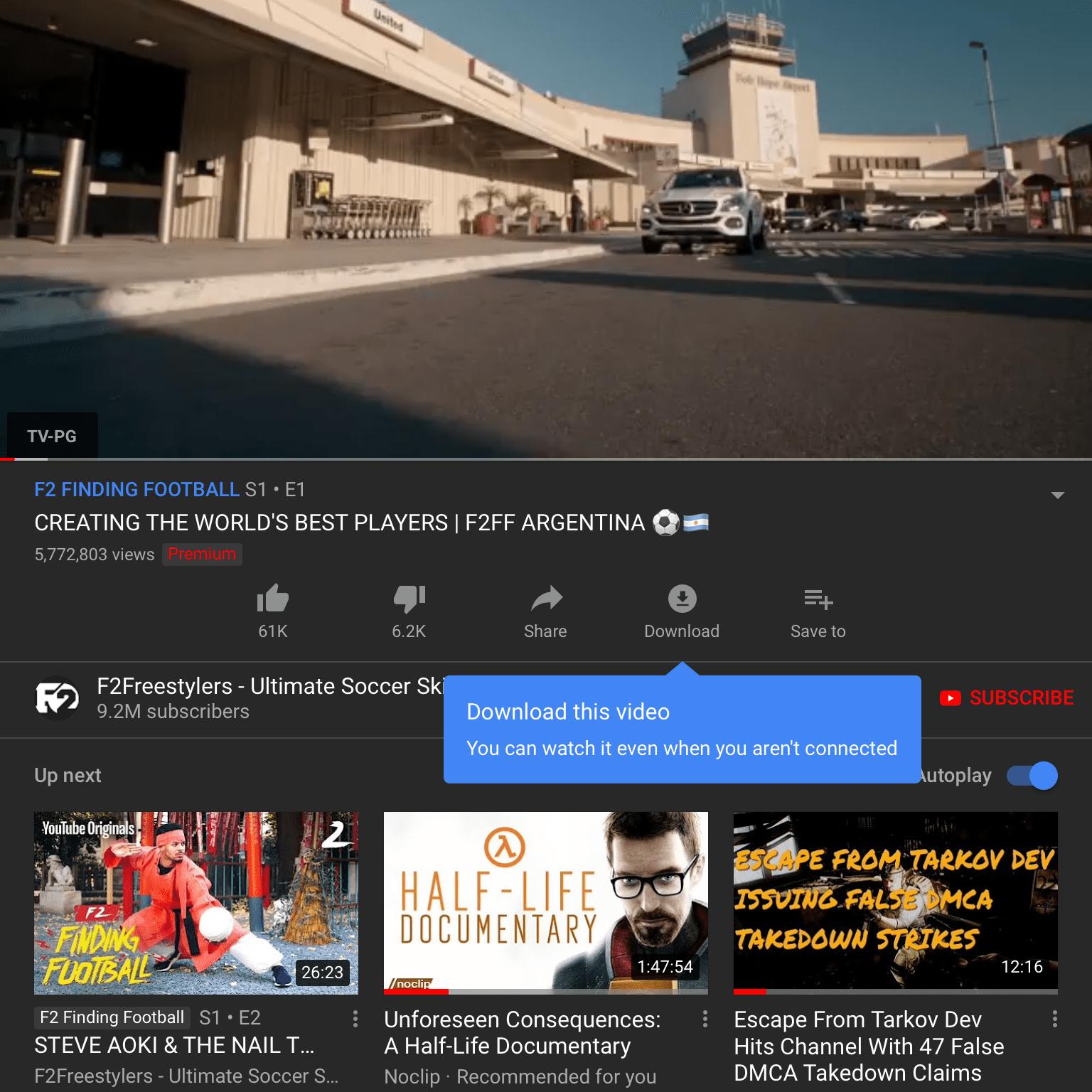 youtube premium download