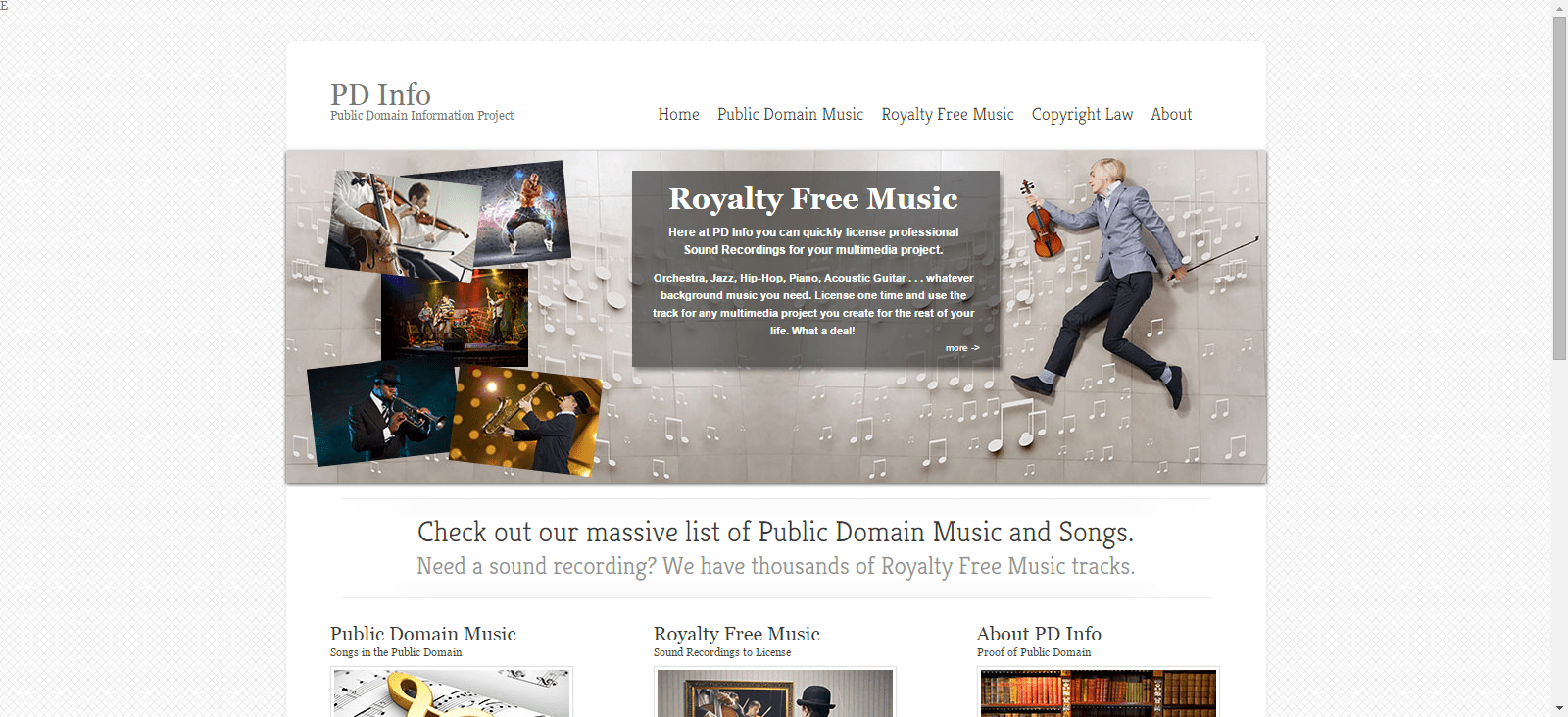 Public Domain Music Seven Free Online Resources