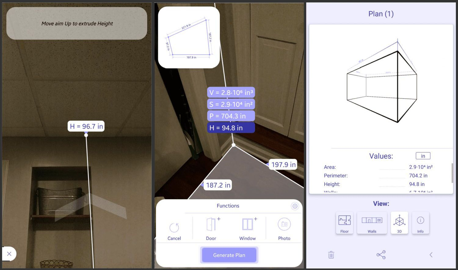 ARPlan 3D measurement app for Android