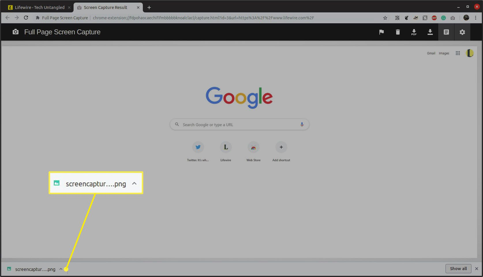 How to Screenshot a Whole Page in Chrome