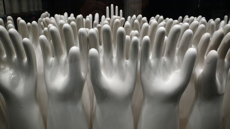 porcelain glove molds