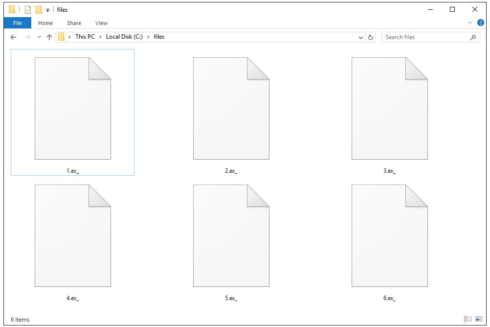 EX_ Files in Windows 10