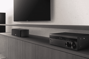 The Sony STR-DH590 stereo receiver