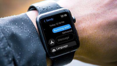 Custom text message response on Apple Watch