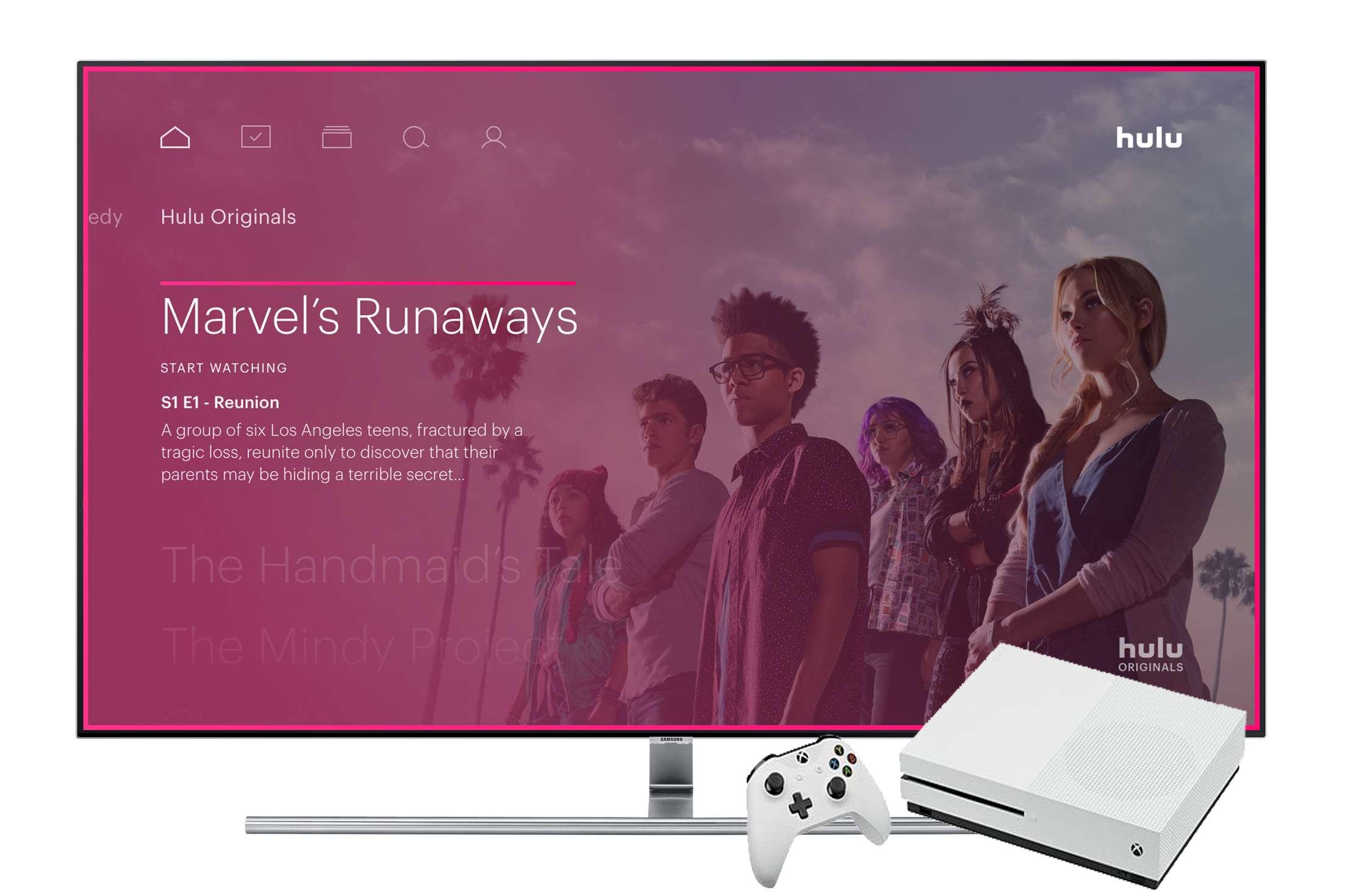 Hulu on Xbox One