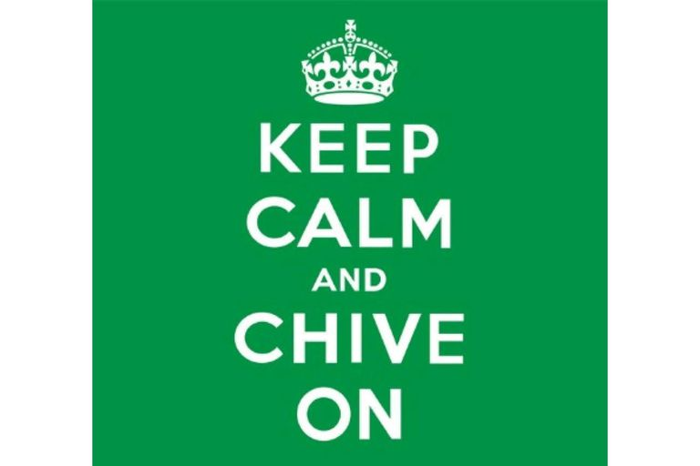 28368a5abd7  Keep Calm and Chive On  Meaning
