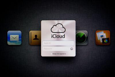 Apple iCloud Web Page
