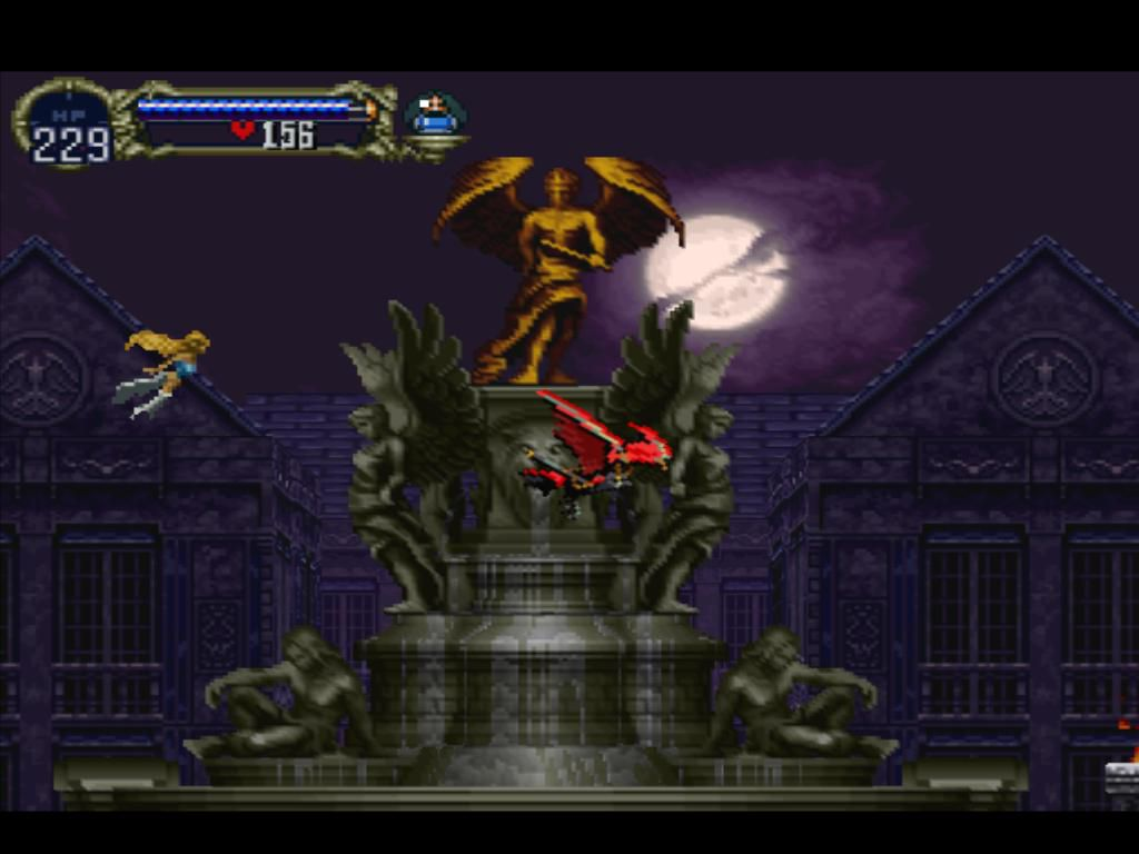 Gameplay of Castlevania: Symphony of the Night