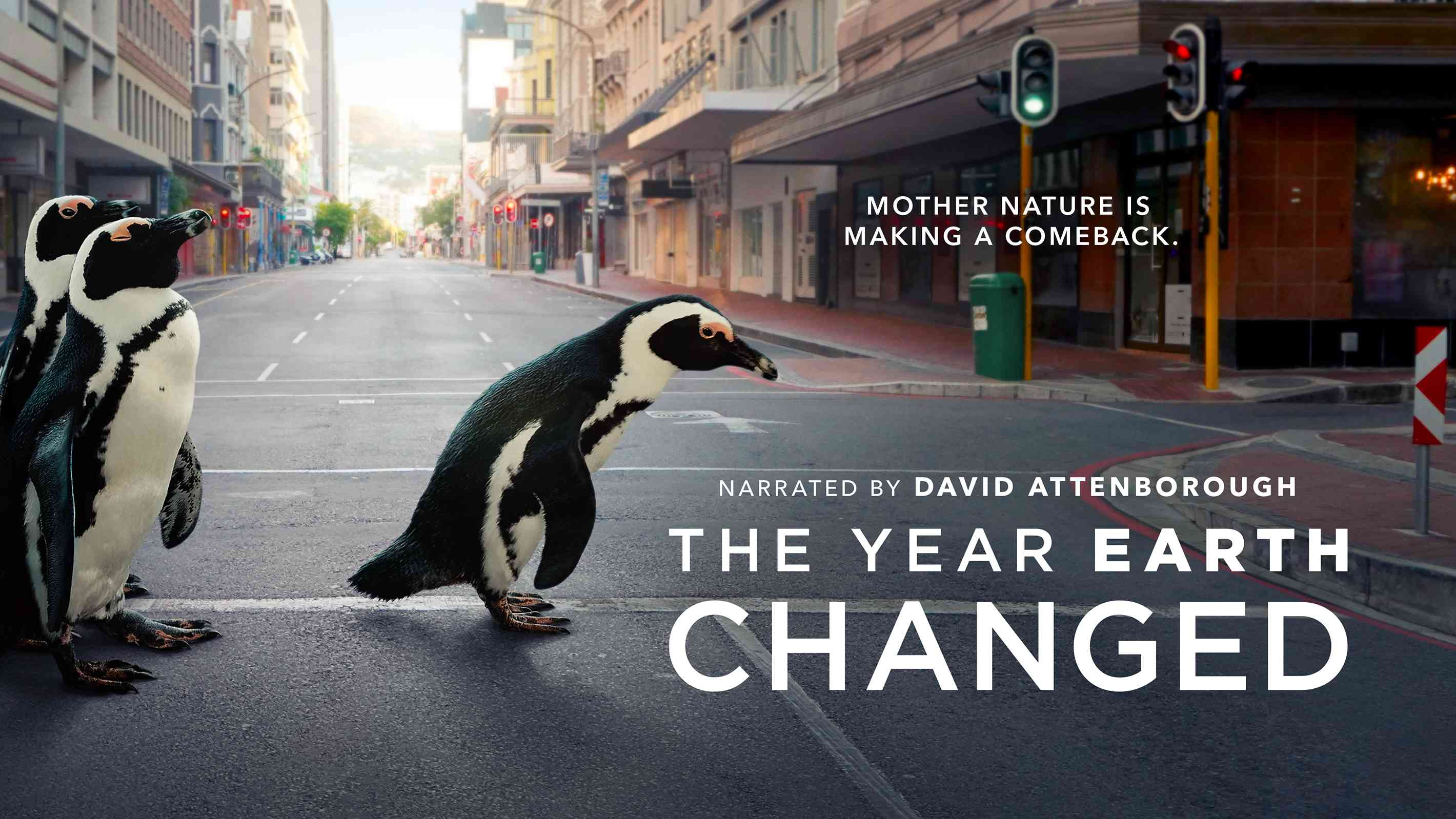 Key art for the Apple TV documentary 'The Year Earth Changed'