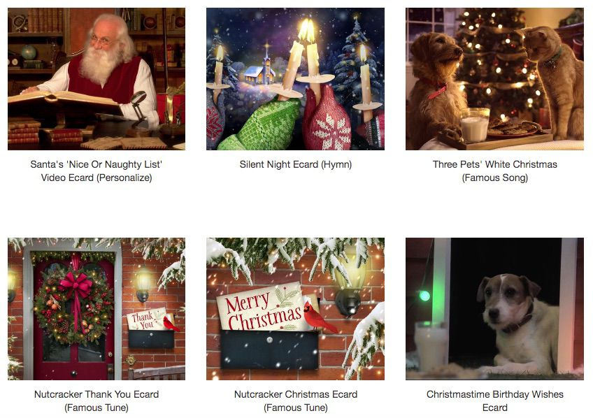 American Greeting Christmas Cards 2020 The 9 Best Electronic Christmas Card Sites of 2020