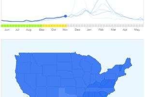 Google Flu Trends screenshot