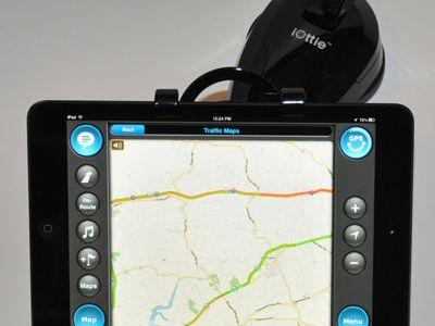 Car GPS Navigation With the iPad Mini