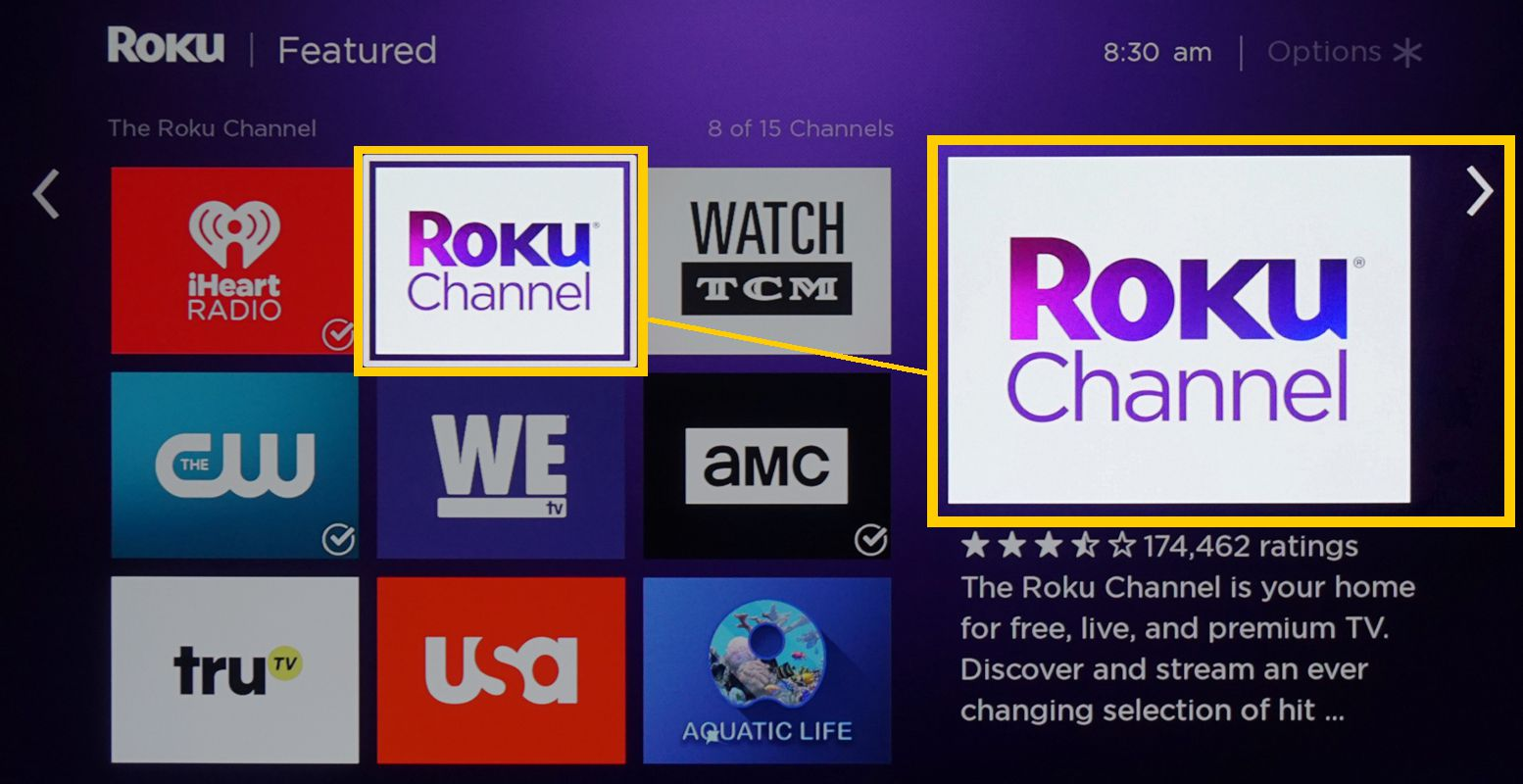 Roku Device Streaming Channels – The Roku Channel Found