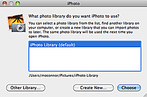iPhoto Tips: Create and Populate Additional Libraries
