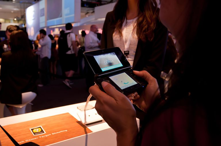 Nintendo 3DS charging battery