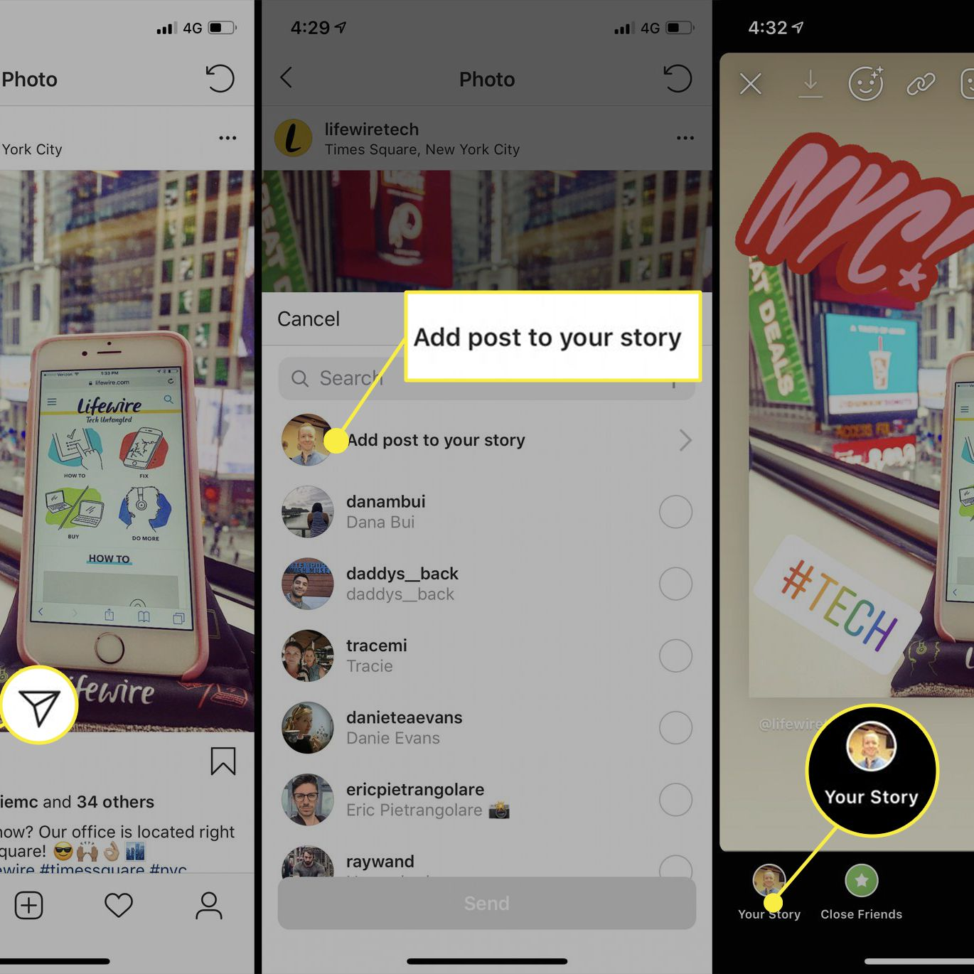 See Who Shared Your Instagram Story