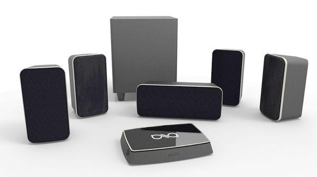 Axiim Q Wireless Home Theater System