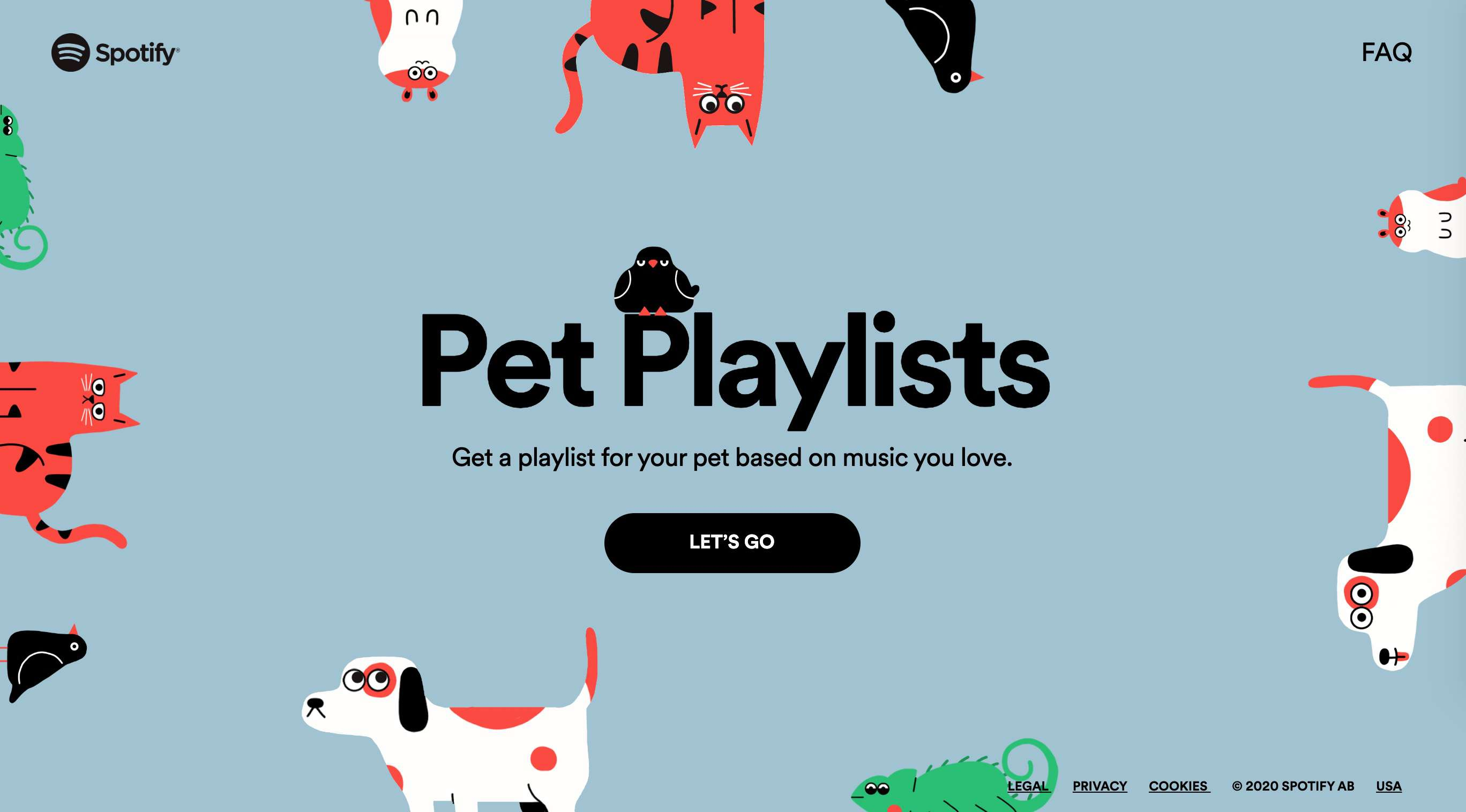 Pet Playlists on Spotify