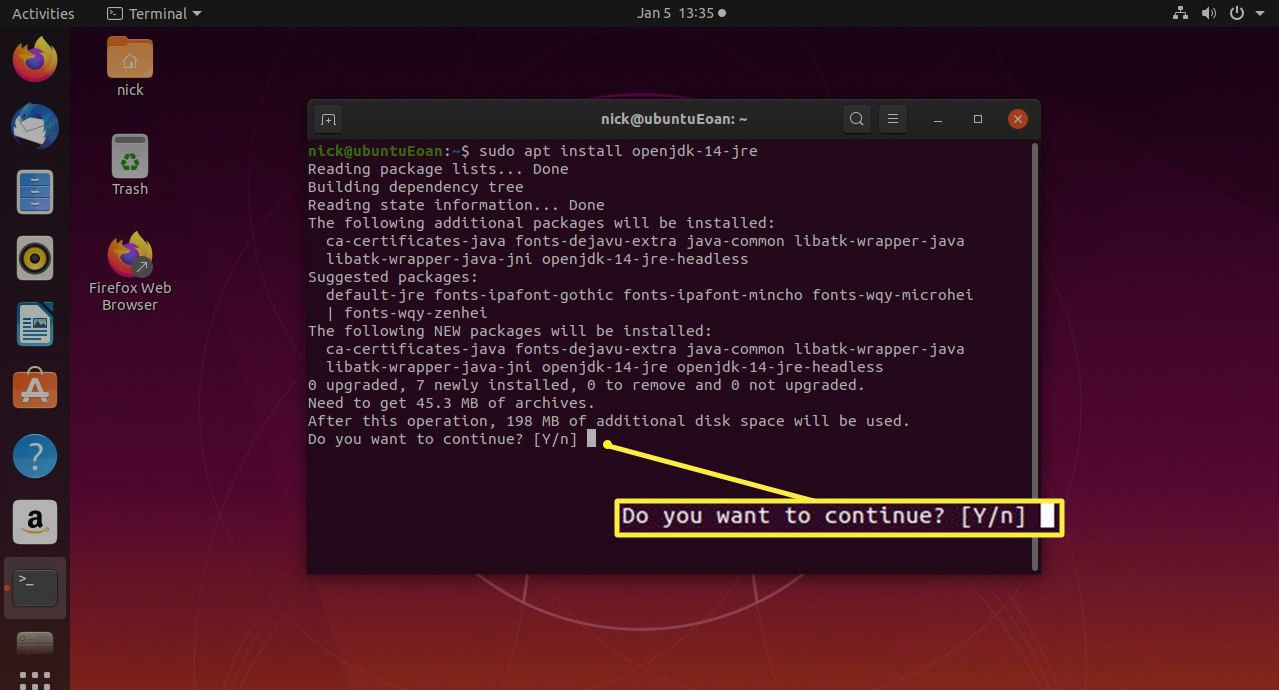 Ubuntu install Java JRE