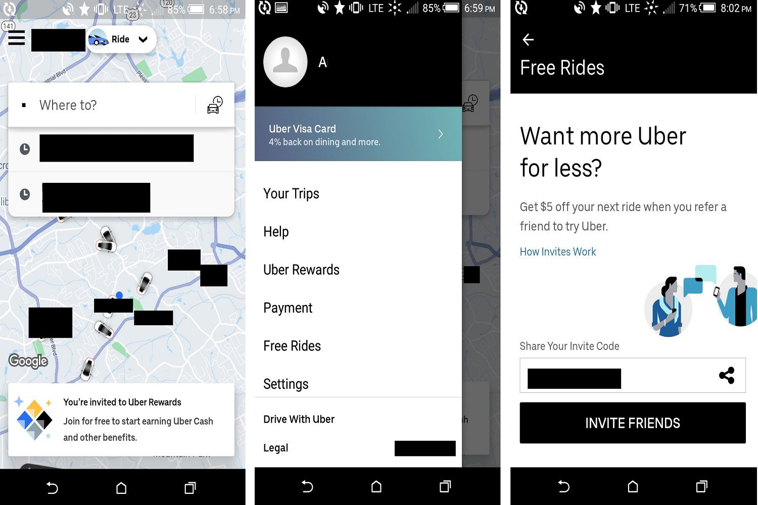 How to Use Uber Rewards and Referrals