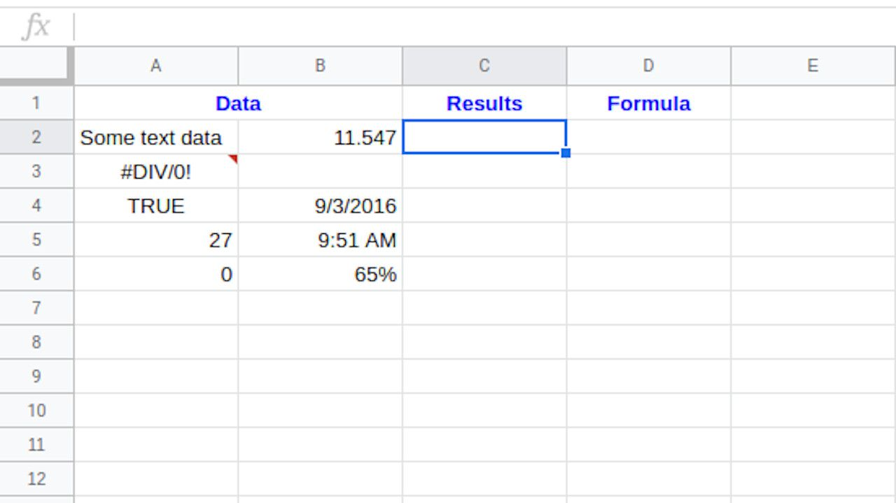 Set up your Google spreadsheet