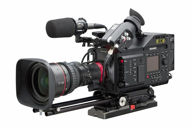 Sharp 8C-B60A 8K Professional Camcorder