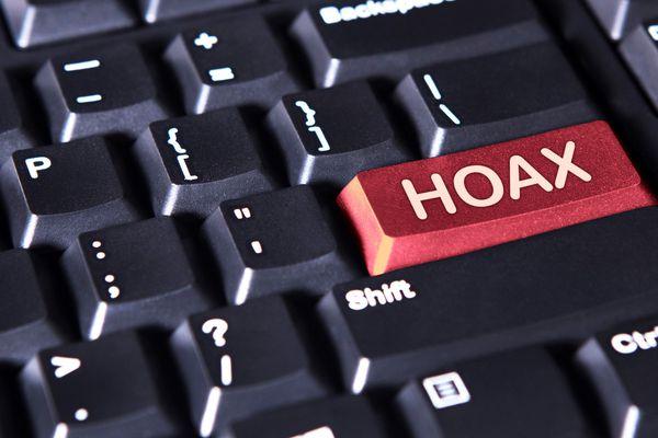 Hoax key on a keyboard's Return key