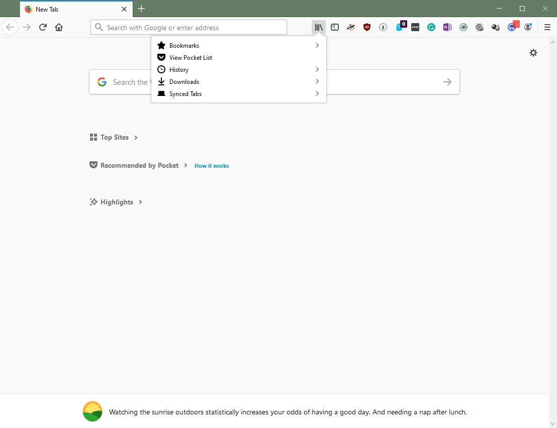 Clearing Private Data and More in Mozilla Firefox