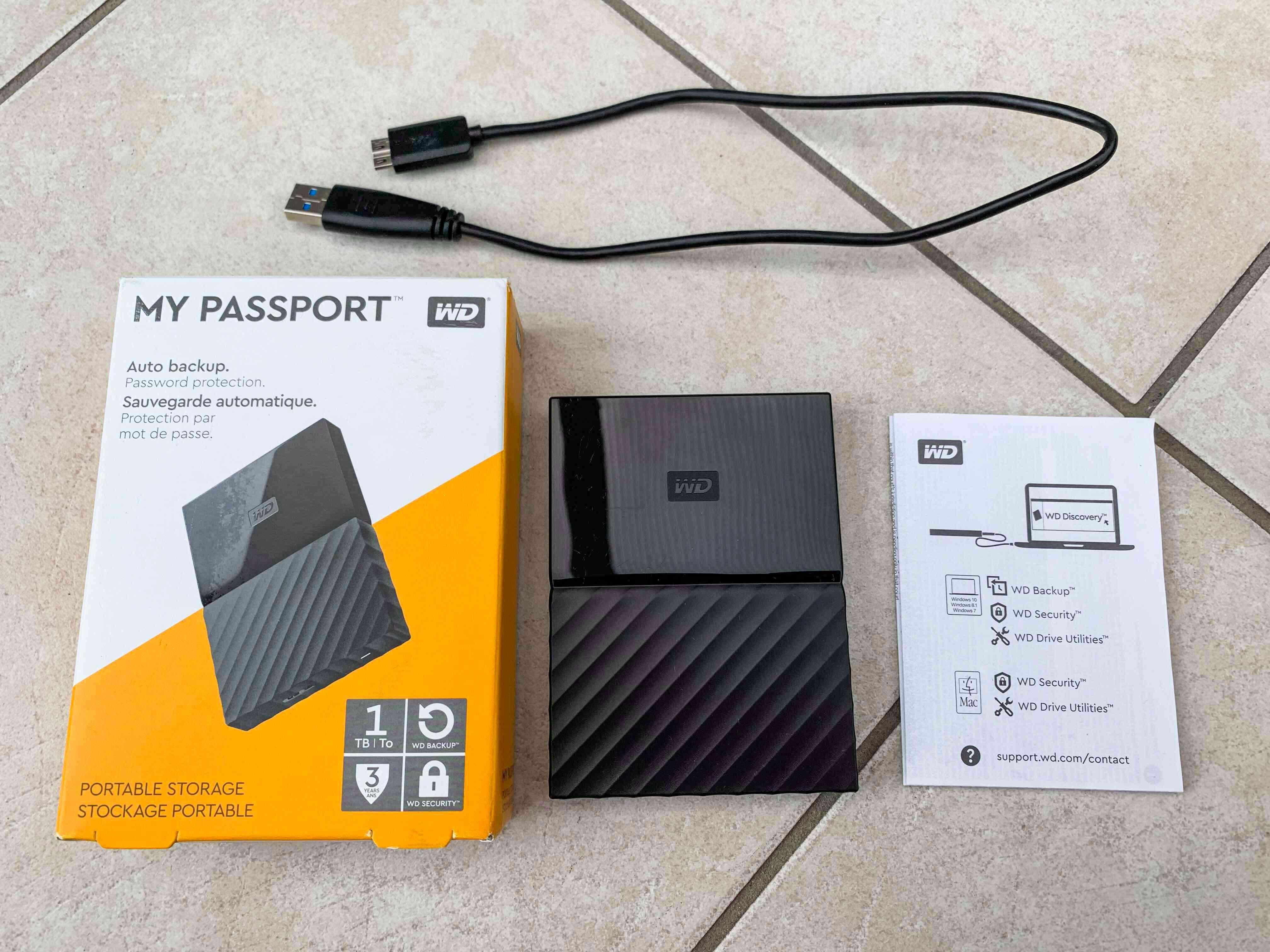 WD 1TB My Passport