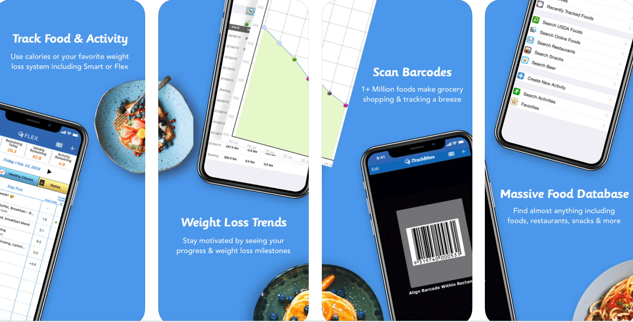 I Track Bites >> The 9 Best Food Tracker Apps of 2020